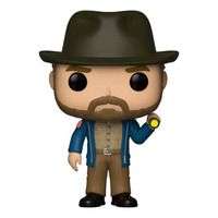 Hopper w/ Flashlight Pop Funko #720 - Stranger Things - Netflix