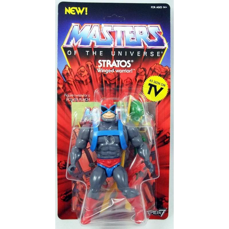 Stratos Vintage Masters Of The Universe - MOTU - Super7