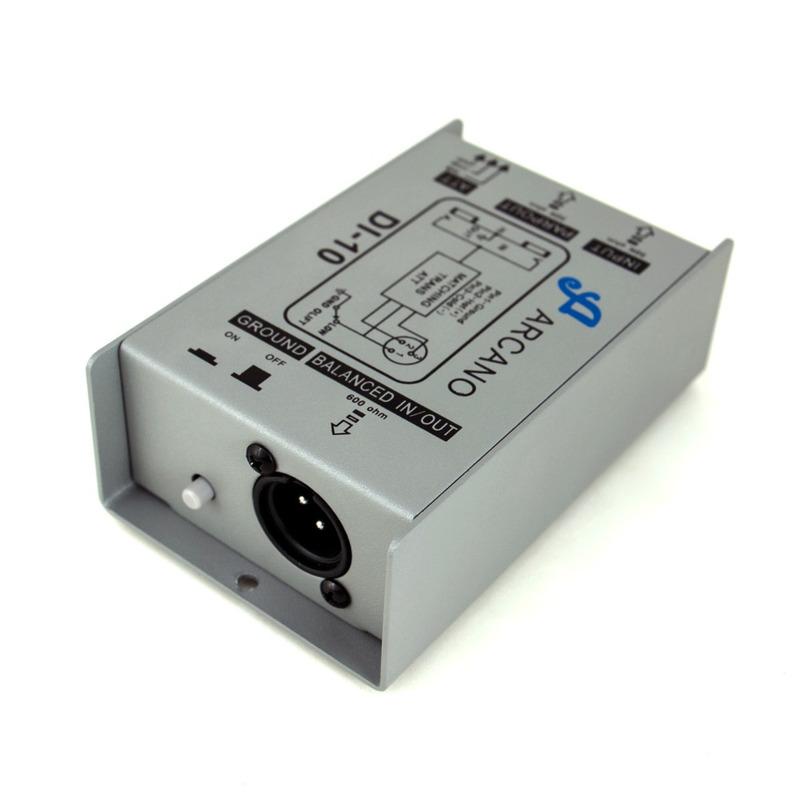 Kit 04 Direct Box Passivo Arcano Di-10