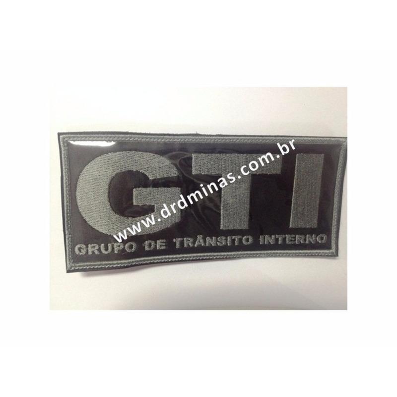 Etiqueta Bordada GTI - 9 x 18