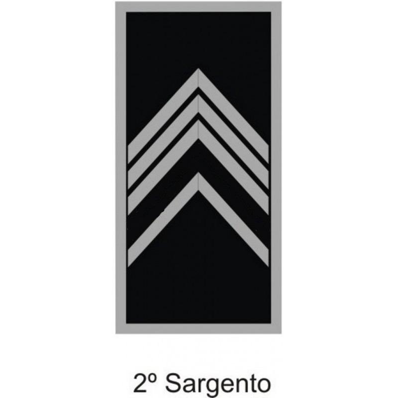 Divisa 2° Sargento PM Emborrachada - U