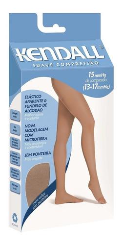 Meia Calça Kendall Suave Compressão S/ Ponteira Mel Original