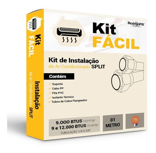 Kit  Ar Condicionado Inverter 9/12000btus 1metro Original