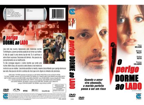 Dvd O Perigo Dorme Ao Lado, Suspense, Original