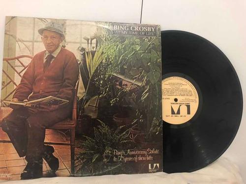 Lp Bing Crosby At My Time Of Life 1976 Ne Original