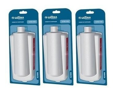 Filtro (refil) 3 Elementos Latina    C/ 3 Unidades Original