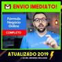 F órmula N egócio Online 2019 afiliado V iking bolt 50cursos