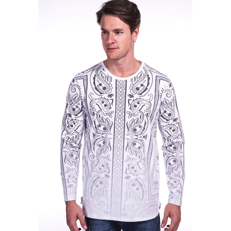Camiseta Manga Longa VB Branca