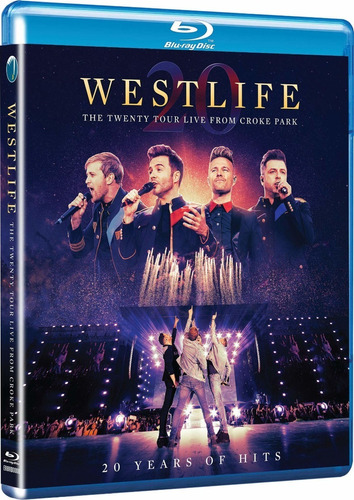 Blu-ray Westlife The Twenty Tour Live From Croke Park 2020 Original
