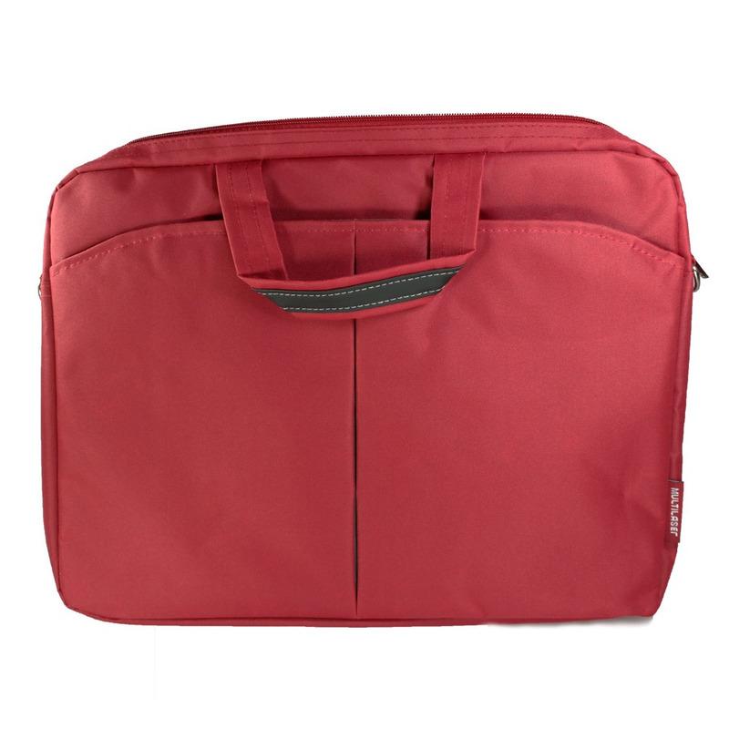 """Bolsa Feminina Multilaser para Notebook 15,6"""" Vermelho - BO171"""