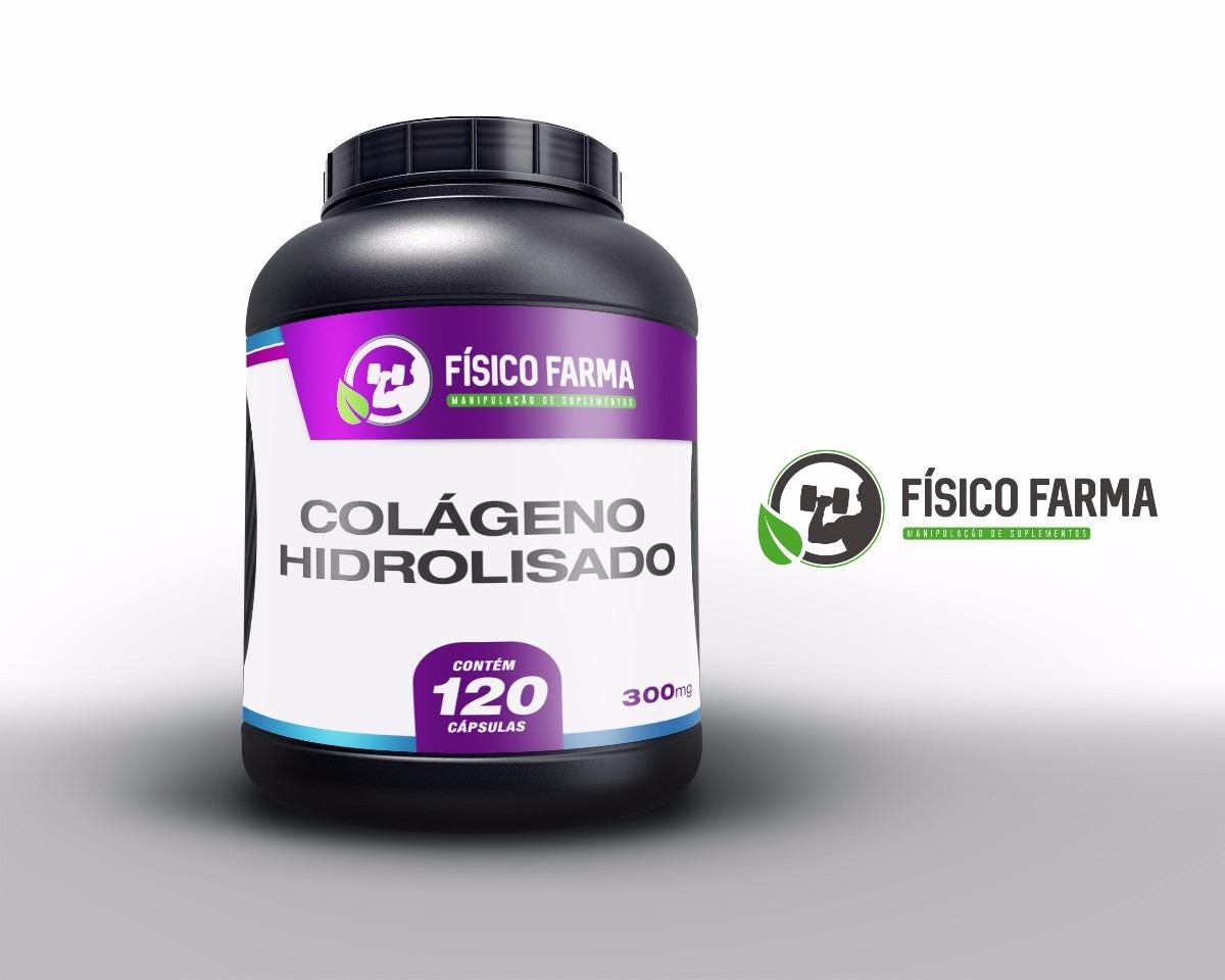 Colágeno Hidrolisado 300mg - 120 Cáps (cola...