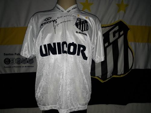 Camisa De Jogo Usada E  Autografada Pelo Giovanni 1995. Original