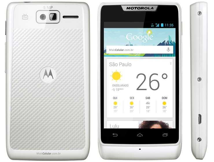 Celular Motorola Razr D1 Xt918 Dual Chip Android 3g Vitrine