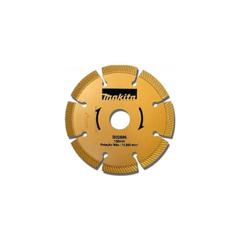 "Disco Diamantado 105 mm (4.1/8"") Segmentado - Makita - B-02886"