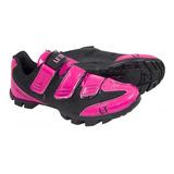 Sapatilha Ciclismo Mtb Letour Rosa/Pink