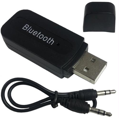 Receptor Bluetooth Áudio Stereo 2.1 Usb P2 Adaptador Músicas