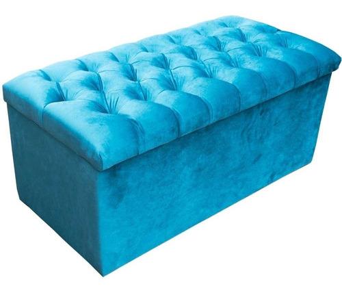 Recamier/calçadeira Bau - Cr P/cama Box 1,60 Larg Original
