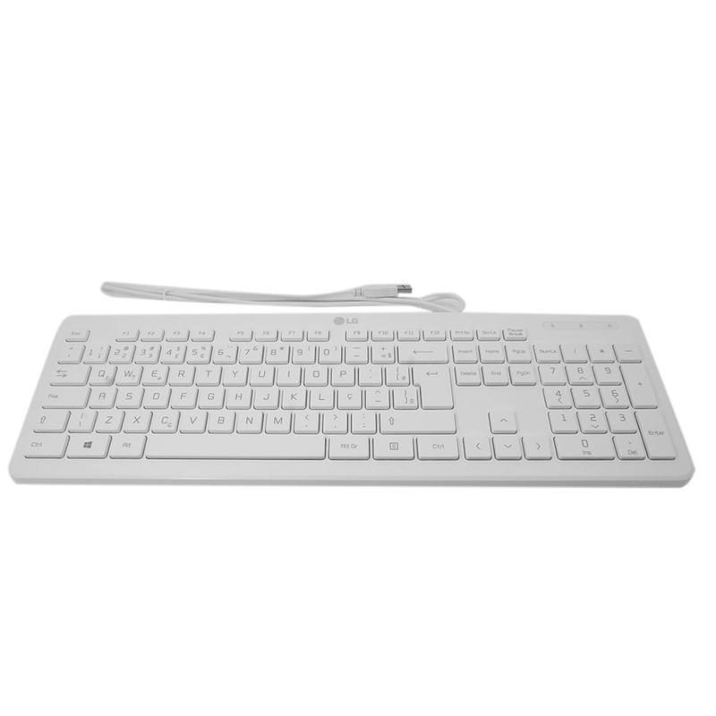 Teclado Usb Com Fio Original Lg Para Computador All In One
