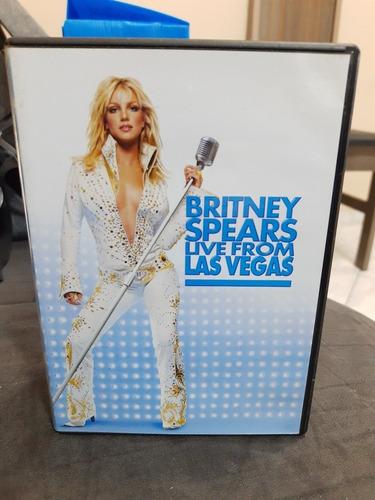 Dvd Britney SpearsLive From Las Vegas Original