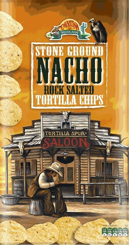 Stone Ground Tortilla - Sabor Nacho