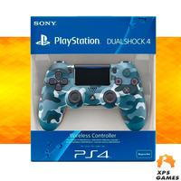 Controle Dual Shock 4 Camuflado Azul - PS4