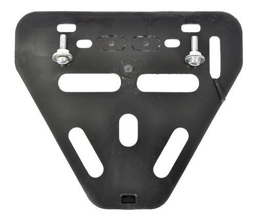 Moldura Suporte Placa Moto Protetor Mercosul Ou Tradicional Original