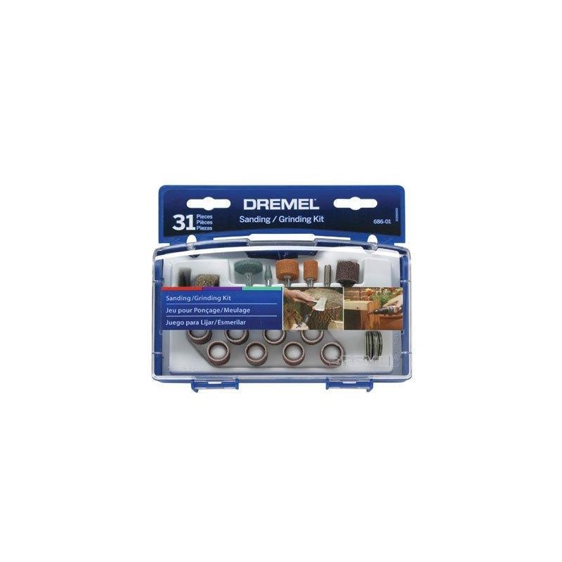 Kit 31 peças Dremel Lixar Ref.686-01