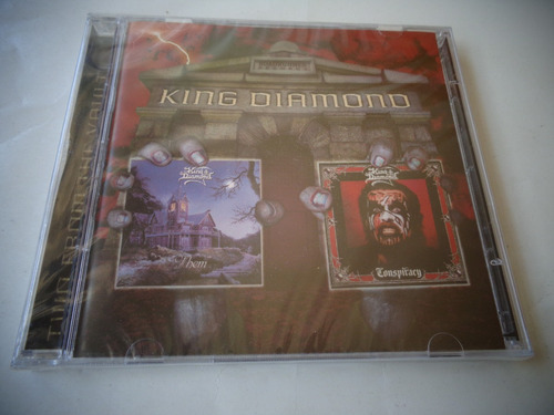 Cd King Diamond - Them / Conspiracy 2cd Lacrado)