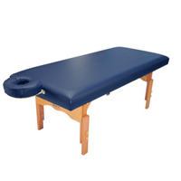 Maca De Massagem Fixa Com Altura Regulável Plêiades Light Legno