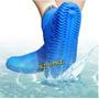 Capa Chuva Sapato Tenis Moto Trilha Camping Silicone Calçado