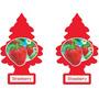 2 Little Trees Strawberry Original Cheiro Cheirinho Carro