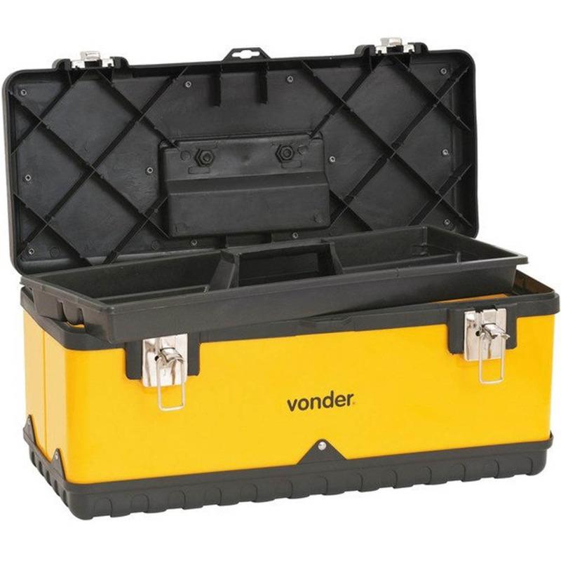 Caixa de Ferramentas Metálica Vonder  CMV 0500
