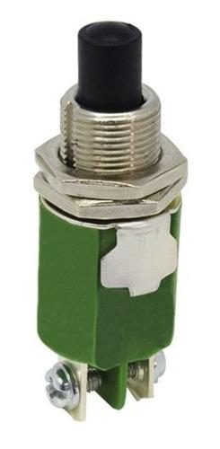 Chave Cs-390 Interruptor Botão 1a 1na Verde Pushbutton Margi Original
