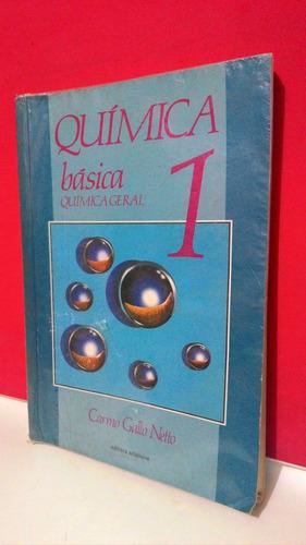 Livro Química Básica 1 - Carmo Gallo Netto Original
