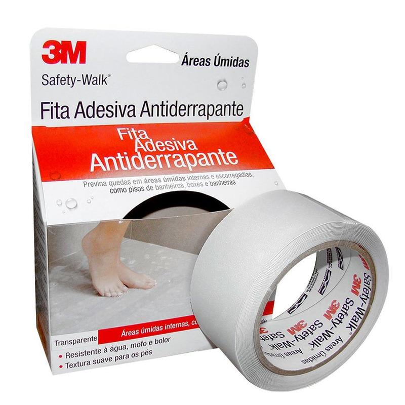 Fita Antider.Safety Walk Transp 50mm x 5m para Banheiro-3M
