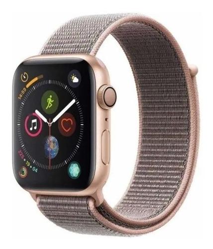 Apple Watch Series 4 44mm Gps Rose Sport Loop Lacrado A13152 Original