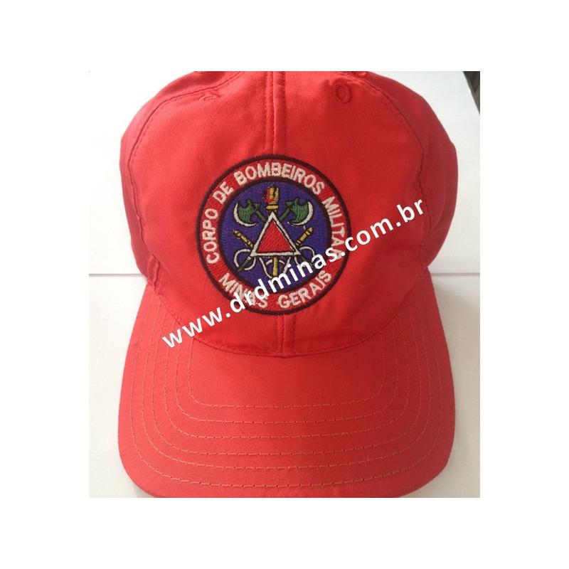 Bone Bombeiro Militar - Vermelho - Salvamento Aquático