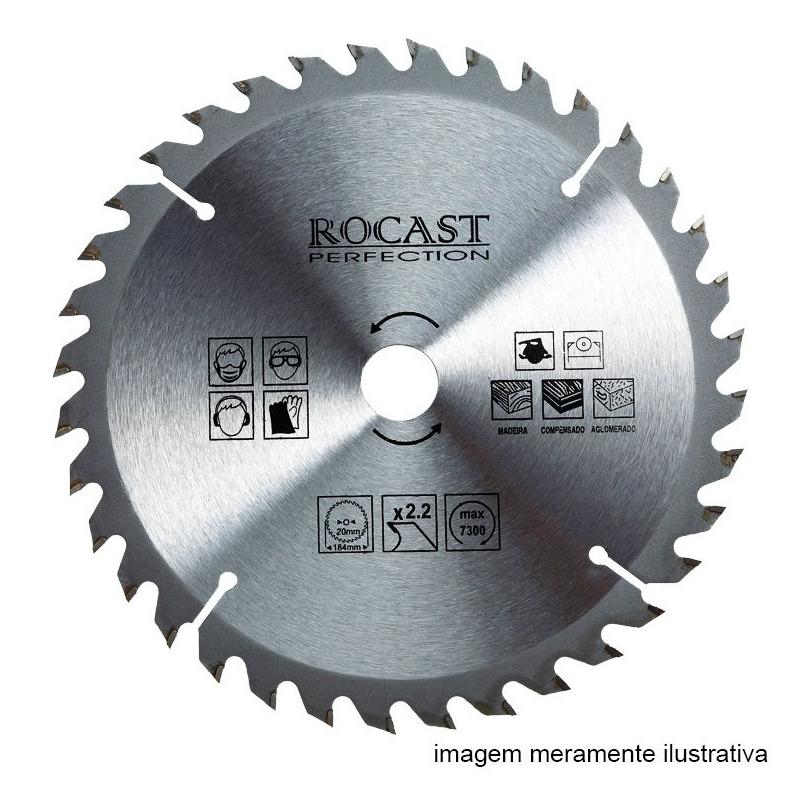 Serra circular MD 9.1/4'' X 36D Furo  25x16x20-Rocast