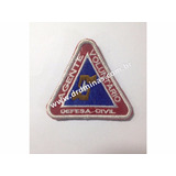 Patch / Distintivo Bordado Defesa Civil - II  - U
