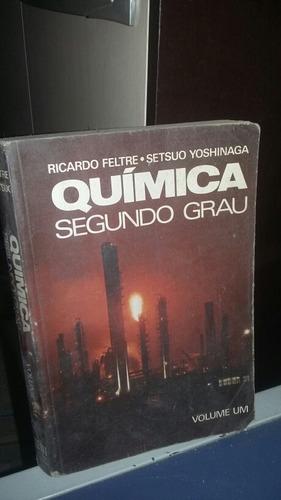 Quimica Segundo Grau Volume Um Ricardo Feltre Original