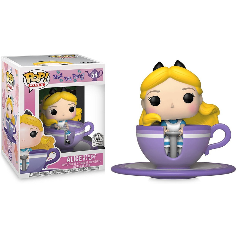 Alice at the Mad Tea Party Pop Funko Rides #54 -  Disney Theme Park Exclusive