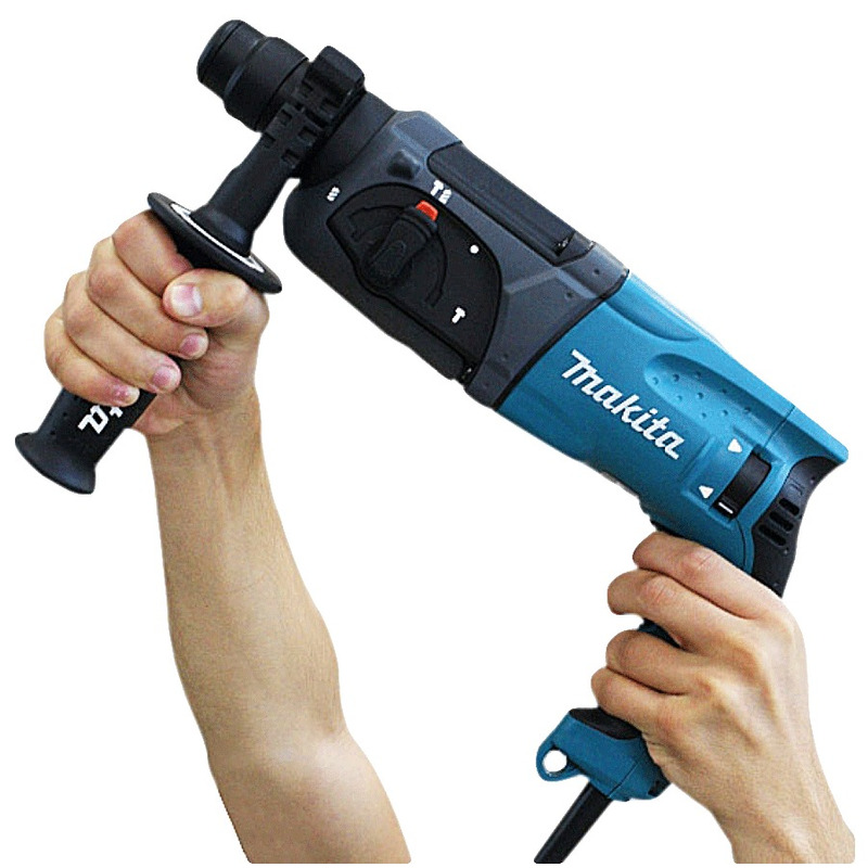 Martelete Combinado 24mm c/Encaixe SDS PLUS 800 Watts - HR2470 - Makita