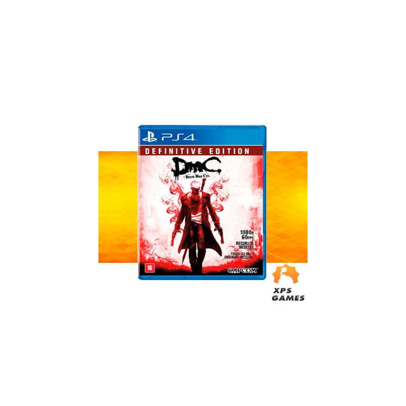 Jogo DmC Devil May Cry: Definitive Edition - PS4