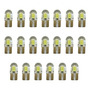 20 Unidades T10 4 Leds Cob Silicone Mini 12v Branco
