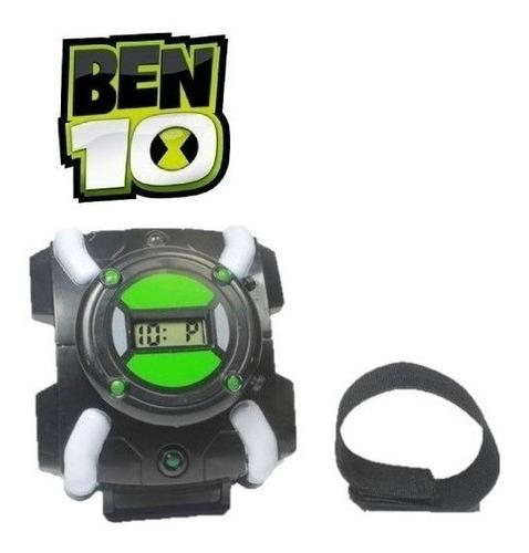 Relogio Ben10 Ben Dez Omnitrix Com Hora Luz E Sons Aliens Original