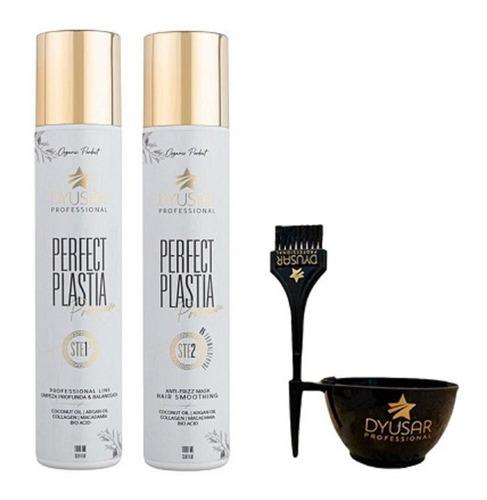 Kit Escova Progressiva Perfect Plastia Premium 1l + Brinde Original