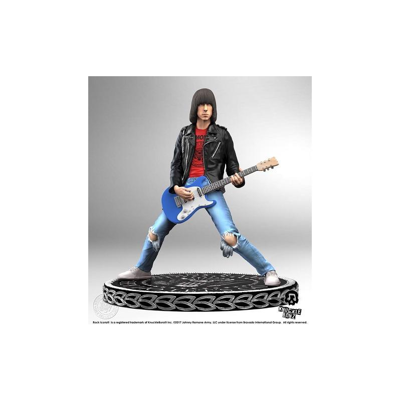 Estátua Johnny Ramone KnuckleBonz - Rock Iconz Statue