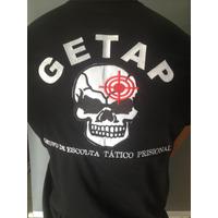 Camisa Preta GETAP - Bordada