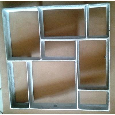Forma piso cal ada 50x50x4 5 c manual uso r 115 00 em - Como hacer brillar el piso de cemento ...