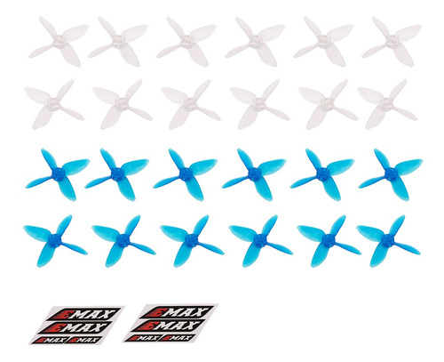 3*12 Pares Emax Avan Micro 2 Polegadas 4-lâmina Hélices Original